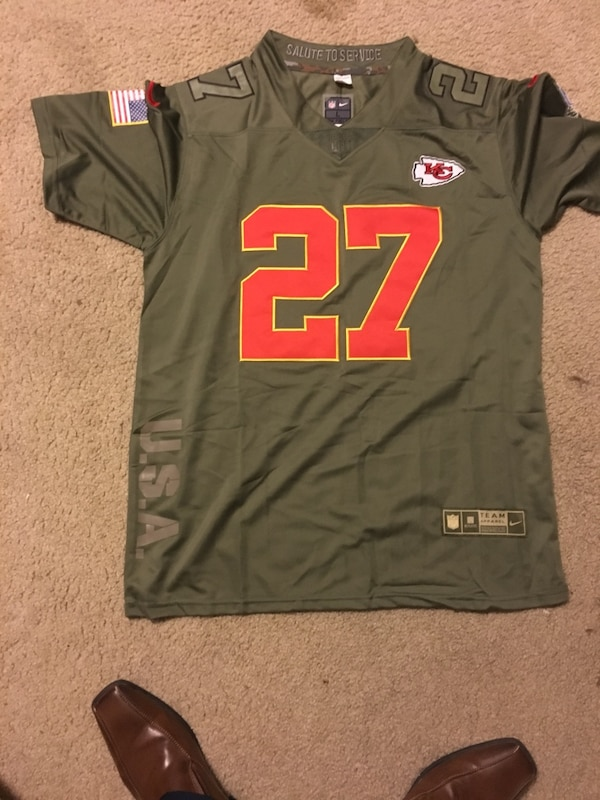 newest 248d2 57bd9 New Hunt chiefs salute to service edition jersey large