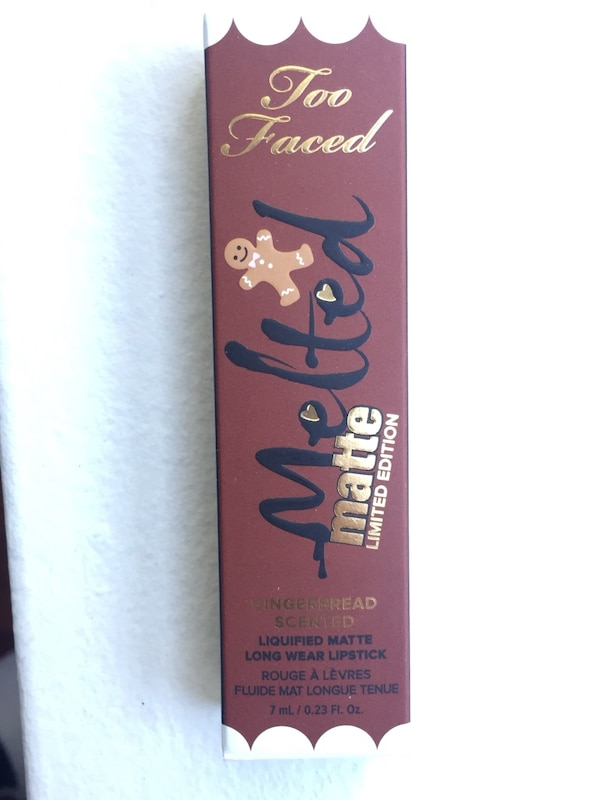 Too Faced Makeup Melted Matte In Limited Edition Gingerbread