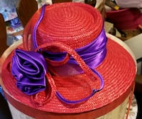 RED HAT WITH PURPLE