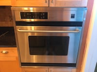 stainless steel and black induction range oven Orlando, 32818