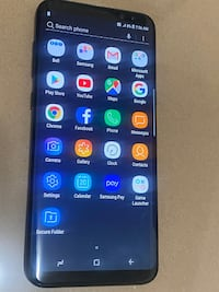 Samsung Galaxy S8+, Black, 64GB, unlocked, used in great condition, phone only Toronto