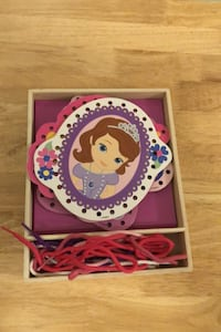 Sofia the first lacing toy Whitby, L1P 1B7