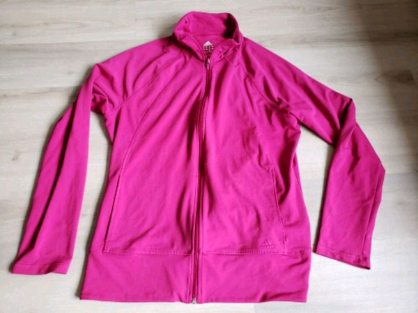 Ladies addidas extra large pink athletic top