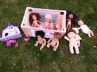 Bunch of Dolls & Bed  Oakland County, 48350
