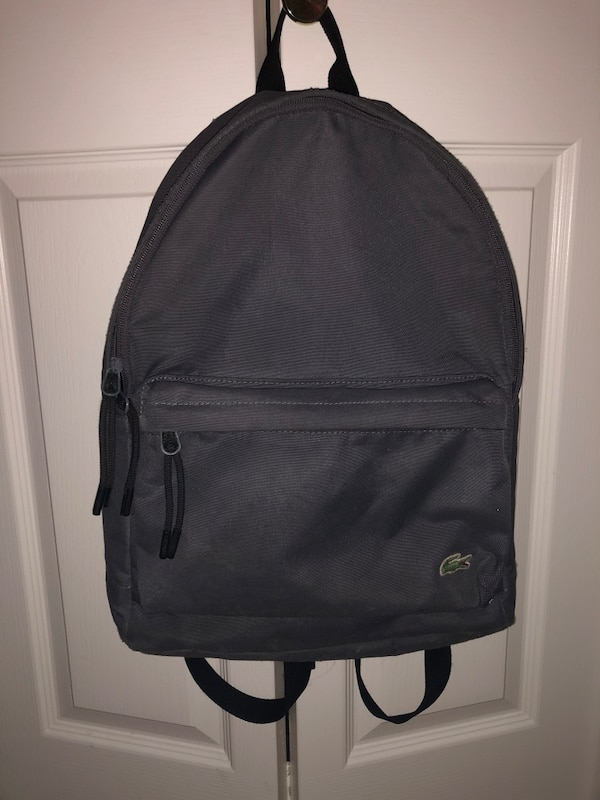 55db327e6cd3c0 Used lacoste backpack for sale in Burnaby - letgo