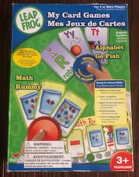 Leap Frog My Card Games Ready For School Skills Vaughan, L6A 0C3