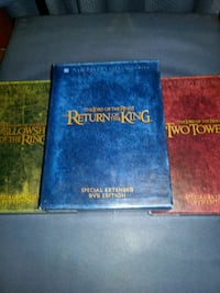 The Lord of the Rings compleate dvd set San Antonio, 78217