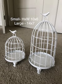 Decorative bird cages 15 mi