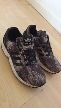 pair of brown Adidas running shoes Hilo, 96720