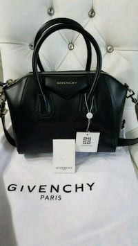 black leather Michael Kors tote bag 542 km