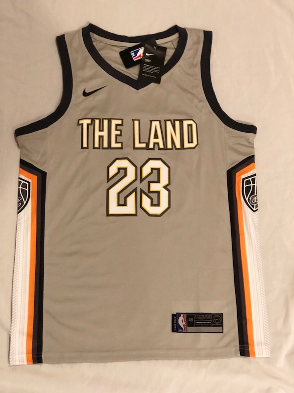 size 40 31121 ccc59 Lebron James Jersey Nike Swingman Cleveland Cavilers The City Edition (The  Land)