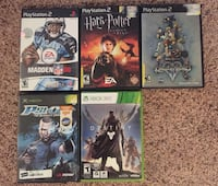 Games (lot of 5) Stafford, 22554