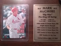 two white and red baseball players trading cards Saint Charles, 63301