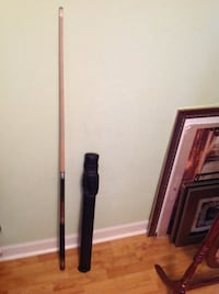 black and brown cue stick CHATTANOOGA