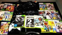 XBOX 360 Konsole Kinect 28 Spiele 3 Controller