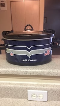 black, blue and gray seahawks slow cooker