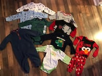 12 month baby boy clothes onesies pajamas  Independence