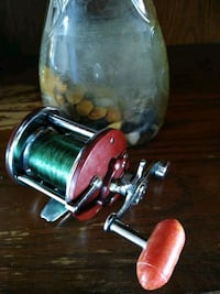 Vintage Penn peerless No.9 fishing reel