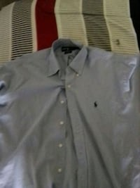 Polo button up shirt never used