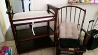 two brown wooden framed white padded armchairs Metairie, 70001