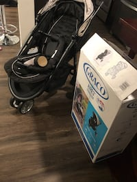 black Graco Aire 3 stroller with box Ashburn, 20147