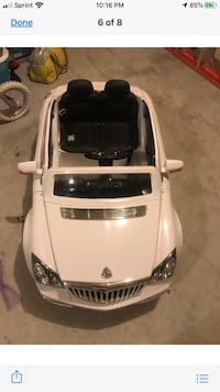 Maybach Luxury Batter Operated Ride-On with MP3