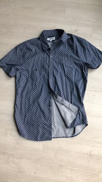 Express Short-Sleeved Button Down M Washington, 20003