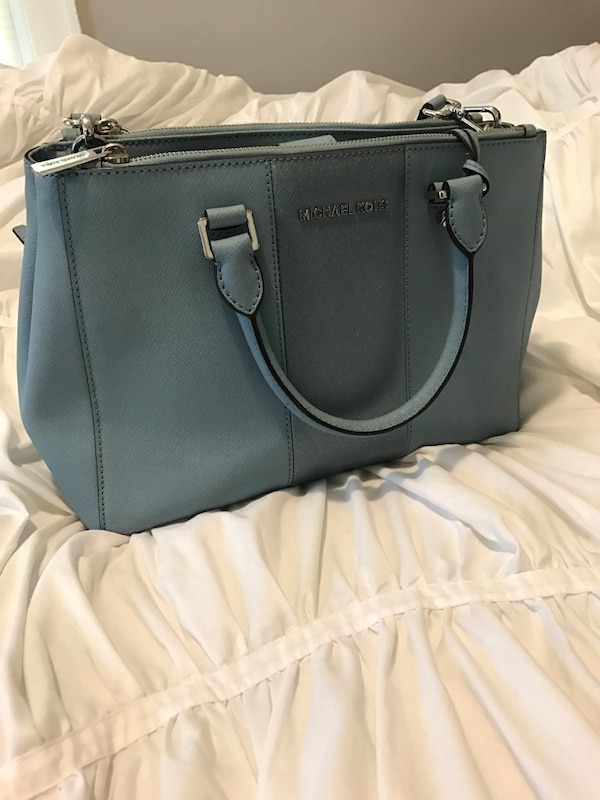64af6b561e1a Used Blue Michael Kors two way tote bag. Retail price is $300 for sale in  Wayne - letgo