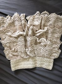 two white-and-brown knitted textiles Markham, L6G 0B4