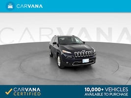 2015 Jeep Cherokee suv Limited Sport Utility 4D BLUE
