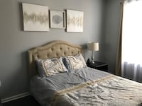Brentwood upholstered bed queen Lorton, 22079