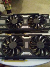 two black graphics cards