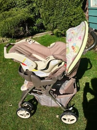 Graco stroller and car seat Coquitlam, V3C 4N5