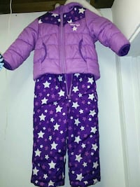 Girls 2T snowsuit