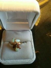 Gold plated old dinner ring.  Size 7 Hamilton, L9A 2H8