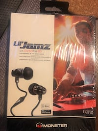 Brand New Monster Lil Jamz In-Ear Noise Isolating headphones Toronto, M9C 0A5