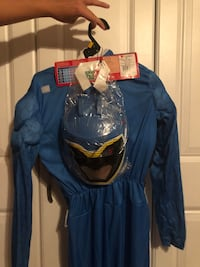 Blue power ranger Halloween costume boys size 10-12 brand new  Wesley Chapel, 33543