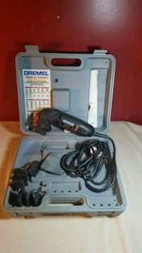 gray and black corded power tool Vernon, V1T