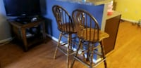 two brown wooden windsor chairs Frederick, 21703