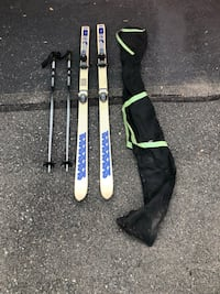 K2 SP 22 skis with poles Stafford, 22554