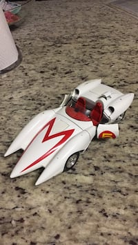 Vintage speed racer metal-cast car. About one foot in length. Minor scrapes but great condition otherwise. Open to offers Fairfax, 22033