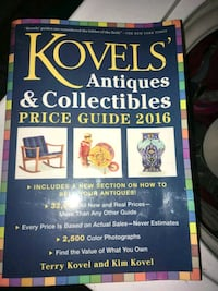 Kovels Antiques & Collection price guide 2016 Bunnell