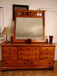 Like new wooden big dresser/TV stand with big draw Annandale, 22003