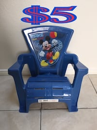 Mickey mouse print chair