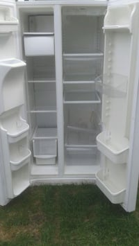 white side-by-side refrigerator Toronto, M1C 1J2