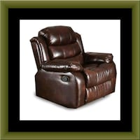 Burgundy recliner chair Capitol Heights, 20743
