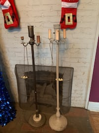 Two candelabras AS IS  Nashville, 37212