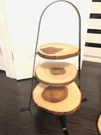 Live wood cupcake stand and Live wood cake holder Courtice, L1E