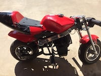 40cc 4 stroke mini bike 5.5hp laid down once I'm 5'5 and I can still ride it works perfectly gas powered Fresno, 93722