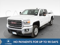 2017 GMC Sierra 2500 HD Crew Cab pickup SLE Pickup 4D 6 1/2 ft White Petersburg